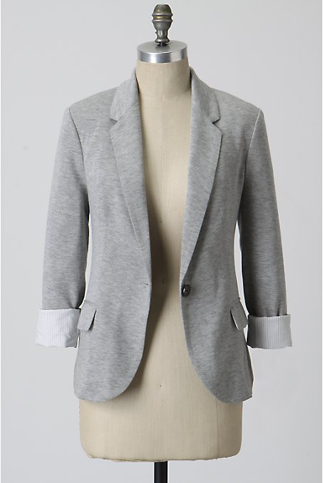 Xo Life u0026 Beauty xo Light Grey Blazer for Spring/Summer