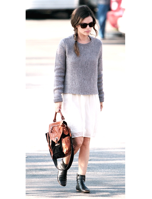 Trend Report: Sweaters with Dresses