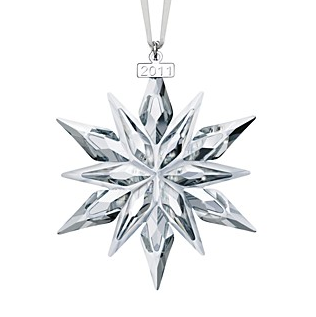 Annual Swarovski Christmas Ornament