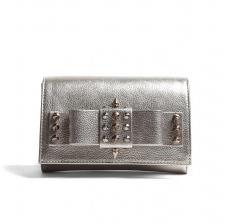 Aila Silver Spike Clutch $316.00 on sale for $221.00 www.mywardrobe.com