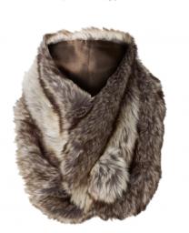 Faux Fur Snug Scarf $33.00