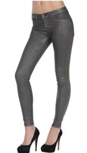J Brand Metallic Charcoal Legging $218.00