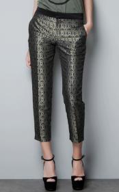 Jacquard Capri Pants $79.90