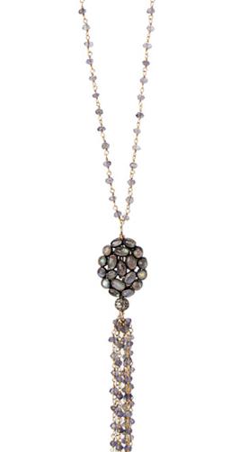 Jemma Sands Corsica Iolite Necklace $625.00