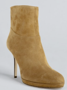 Jimmy Choo Whiskey Suede Ankle Boots $975.00 on sale for $546.39