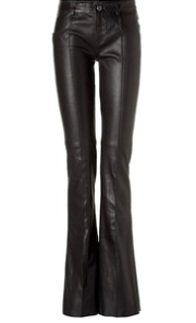 Jitrois Flared Leather Pants $2135.00 on sale for $1494.00