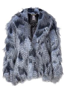 Juicy Couture Lapis Faux Fur Cape $495.00