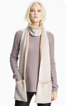 Michael Michael Kors Pocket Scarf $75.00 on sale for $56.25