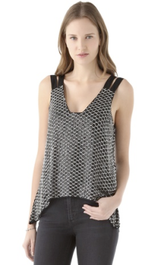 Parker Double Strap Top $308.00 on sale for $215.60