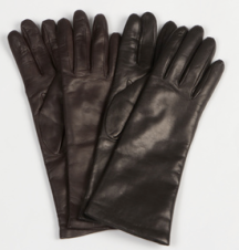 Portolano Women's Cashmere Lined Leather Gloves $49.99