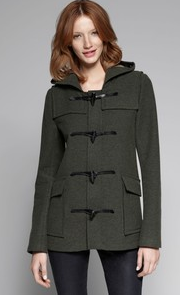 THEORY CAMIRE WOOL BLEND TOGGLE COAT $625.00 ON SALE FOR $312.50