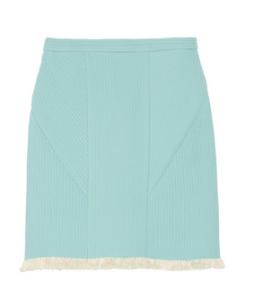 3.1 Phillip Lim Fringed Corded Chiffon Skirt $575.00