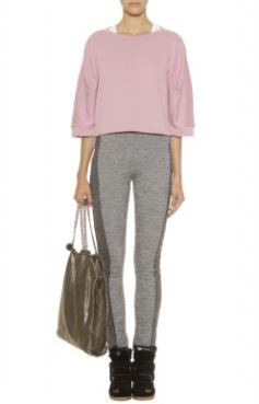 Adidas By Stella McCartney Cropped Sweatshirt $92.00 on sale for $65.00