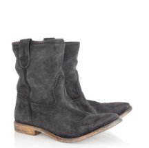 Jenny Brushed-Suede Ankle Boots $625.00 www.netaporter.com