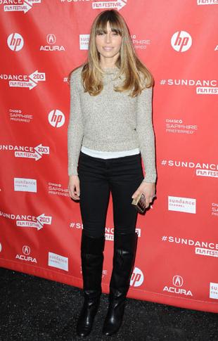 Jessica Biel At Sundance