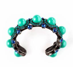 Lanvin Maria Felix Pearl Bracelet $780.00