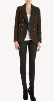 Laveer Double-Breasted Jacket $525 www.barneys.com