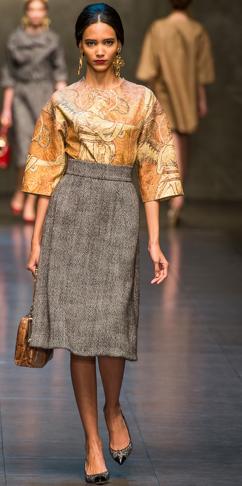 Dolce & Gabbana Fall 2013 1