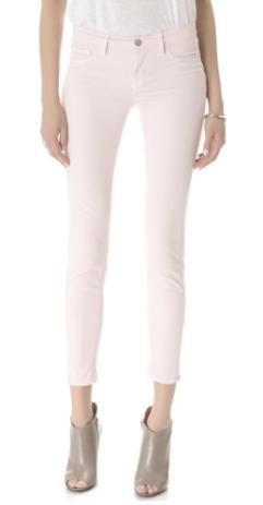 J Brand 811 Mid Rise Skinny Jeans Shoal $176.00