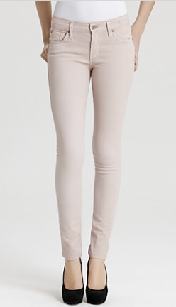 James Jeans Skinny Jeans Twiggy In Silk $158.00