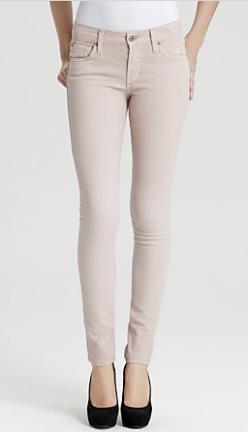 James Jeans Skinny Jeans Twiggy In Silk $158.00