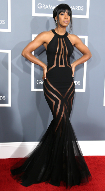 Kelly Rowland In Georges Chakra Couture