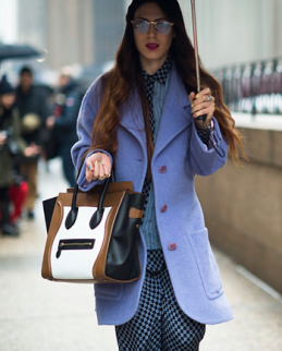 NYFW Street Style Handbag