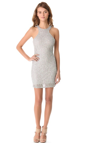 Parker Iridescent Sequin Dress $396.00