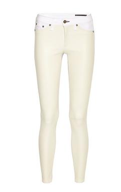 Rag & Bone Jean The Hyde Leather-Paneled Skinny Jean $595.00