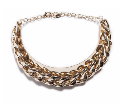 Gold Plated Maxi Chain Necklace $25.90