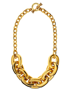 Chunky Link Necklace $98.00 on sale for $69.00
