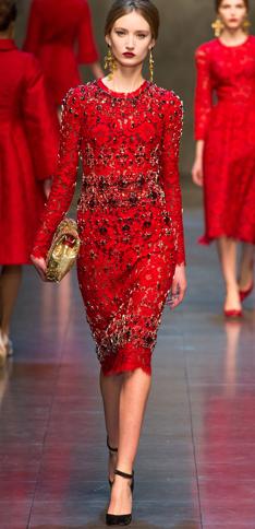 Dolce & Gabbana Fall 2013 5