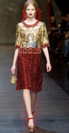 Dolce & Gabbana Fall 2013 6