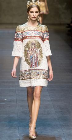 Dolce & Gabbana Fall 2013 7