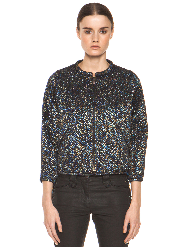 Isabel Marant Lurex Metallic Jacket $1095.00