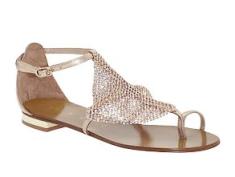 Lola Cruz Flat Sandal $225.00 on sale for $119.99