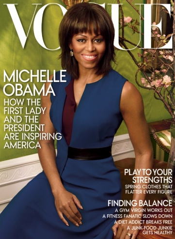 Michelle Obama on cover of Vogue