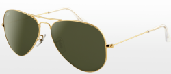 Aviator large Metal Gold Sunglasses $145.00
