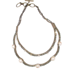 Double Strand Blush Rock Opera $300.00 on sale for $255.00