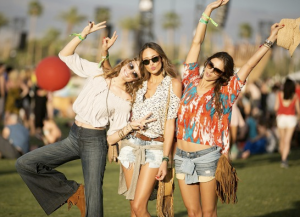 Coachella Fashion Trio