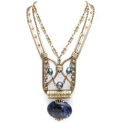 Lapis Entry Making Necklace $385.00 on sale for $