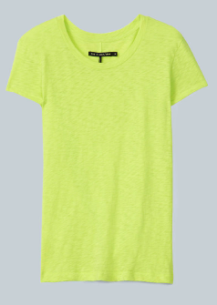 Rag & Bone Jean Brando Yellow Tee $80.00