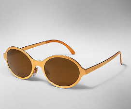 Splash Sunglasses Metallic Gold $220.00 www.burberry.com
