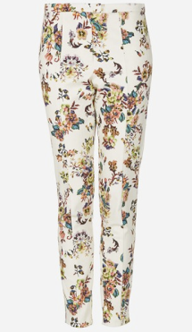 Topshop Pixelated Floral High Waist Pants $84.00