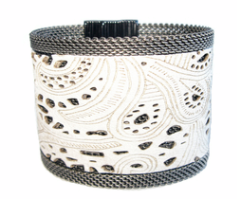 White Lace Cuff  $200 on sale for $170.00