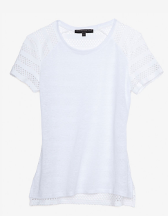 Generation Love Perforated Tee $105.00 www.intermix.com