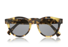 Illestevia Leonard Round-Frame Tortoiseshell Sunglasses $165.00
