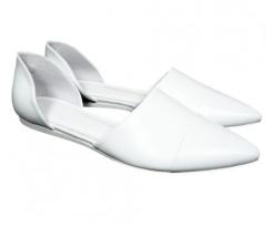 Jenni Kayne Leather D'Orsay Flat $495.00