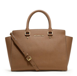 MICHAEL Michael Kors Large Selma Top-Zip Satchel $358.00