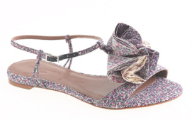 Tabitha Simmons Daisy Willow Sandals In Blue $328.00